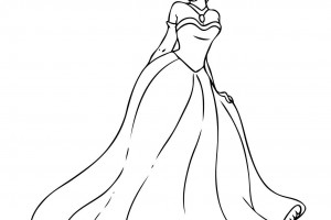 Princess Tiana Coloring Pages For Girls