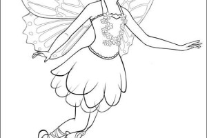 Barbie Mariposa Coloring Pages | fairy princess | Movie | #14