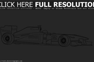 Formula one race coloring  pages for kids , letscoloringpages.com ,  formula one supercar