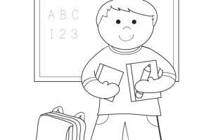 School House coloring pages, Coloring for kids, Welcome to open School