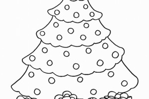 Christmas tree coloring pages - coloring book - #29