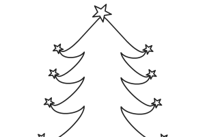 Christmas tree coloring pages - coloring book - #9