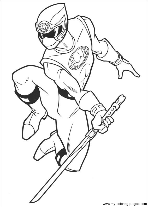 Barbie Coloring Pages Power Rangers : Power rangers coloring pages printable