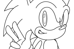 Sonic coloring pages | disney coloring pages for kids | color pages | coloring pages to print | kids coloring pages | #4