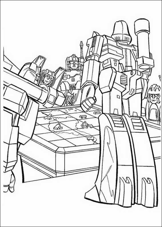 Coloring Pages Transformer Prime Cars Hv With Free