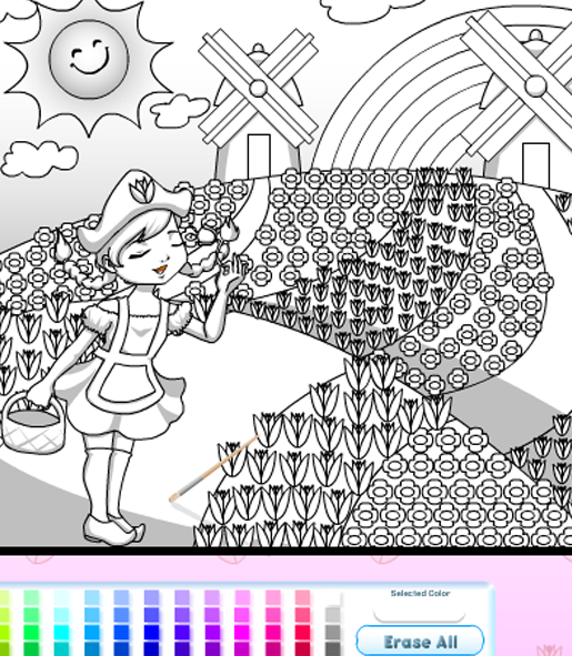 Coloring games online | colouring pages | drawing online | Color ...
