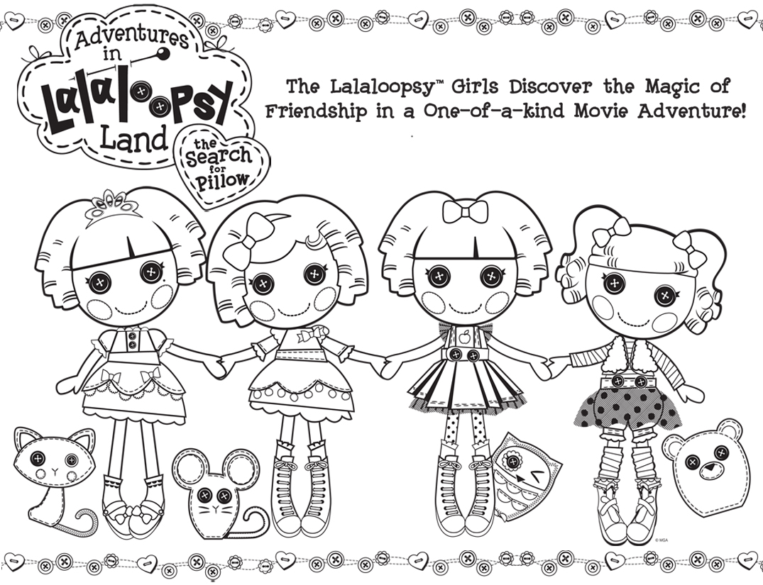 Lalaloopsy coloring pages | coloring pages for girls online | color pages for girls | #10