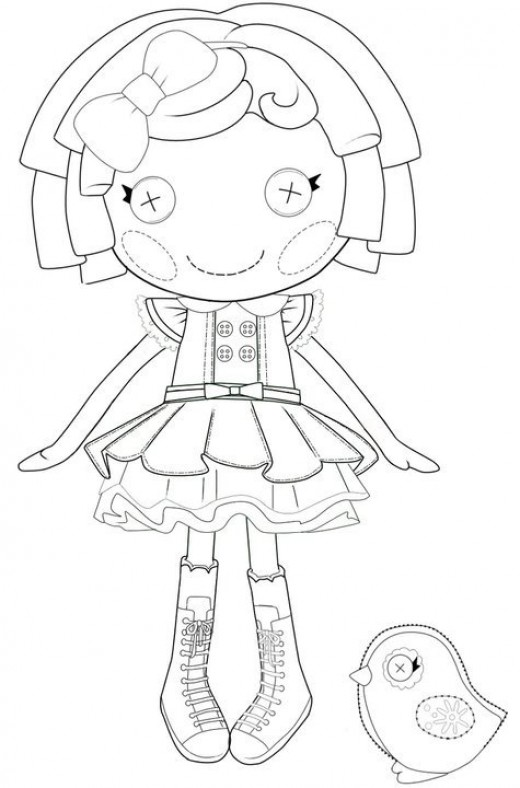Lalaloopsy coloring pages | coloring pages for girls online | color pages for girls | #2