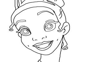 Little Girl FREE Disney coloring pages