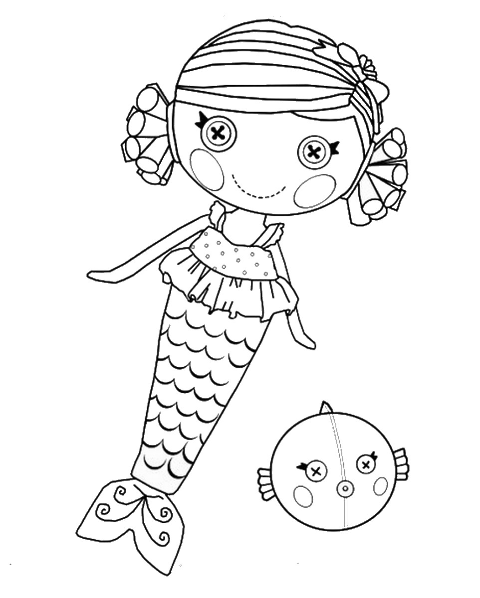 Lalaloopsy Coloring Pages | Colouring pages | #23