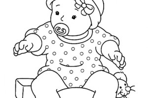 Little Baby coloring pages