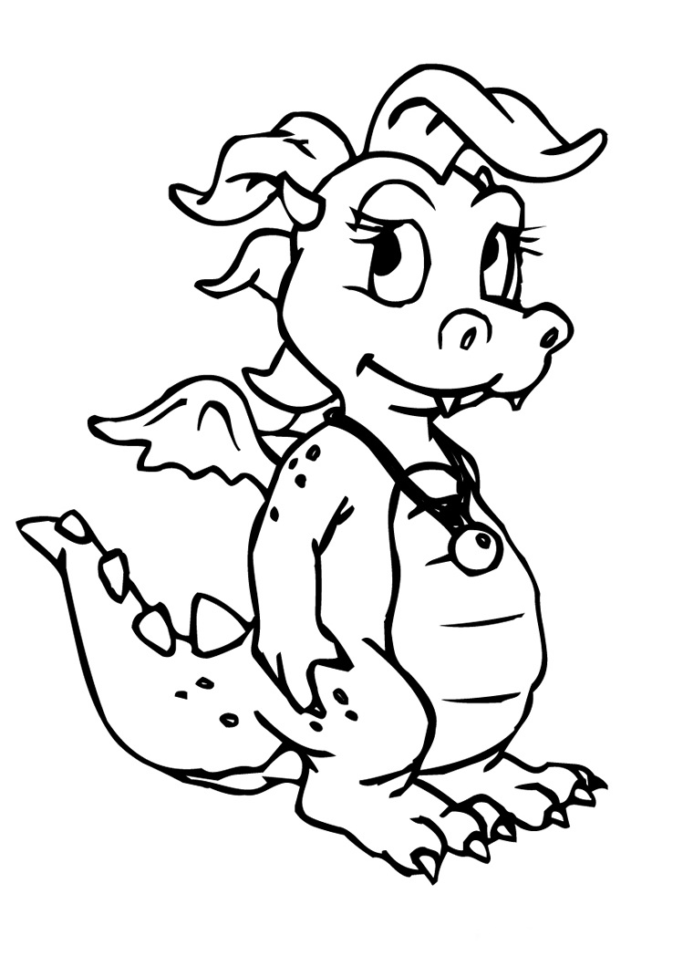 Chinese Dragon Coloring Pages  Colouring pages  26 Free