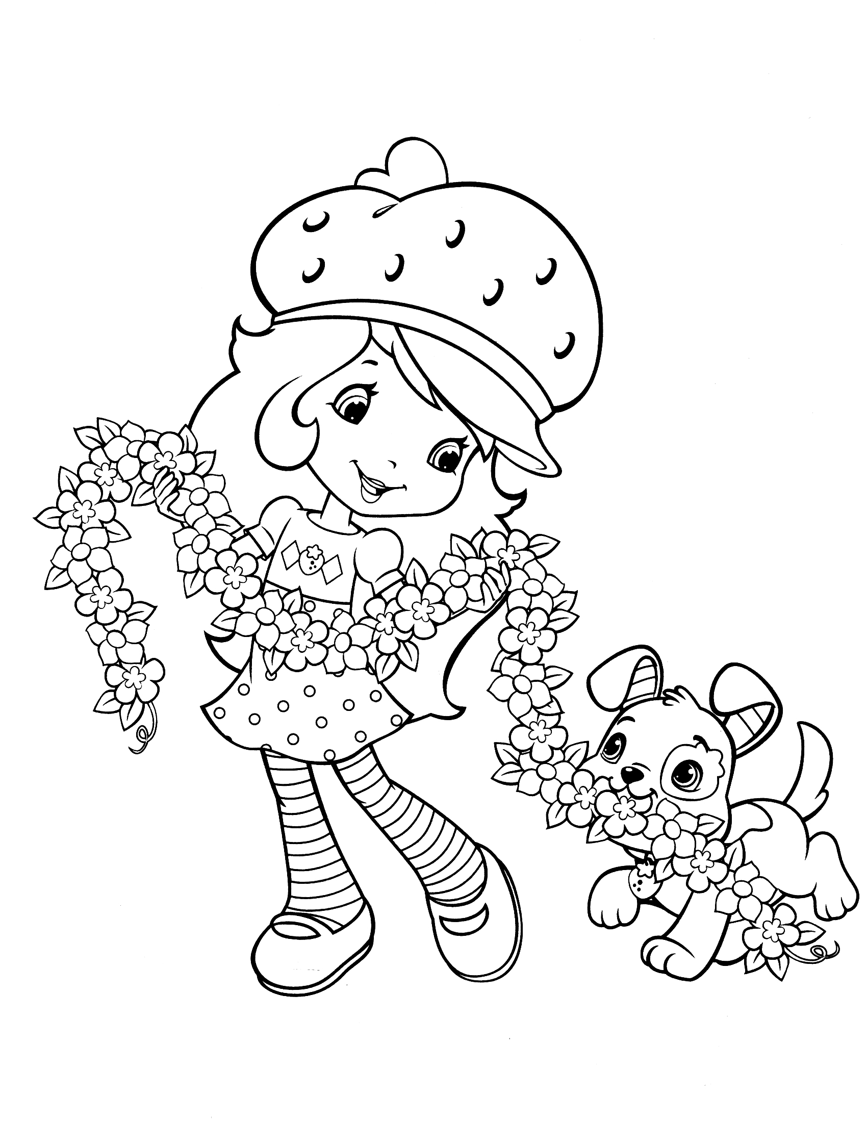 strawberry shortcake coloring pages cool coloring pages 12