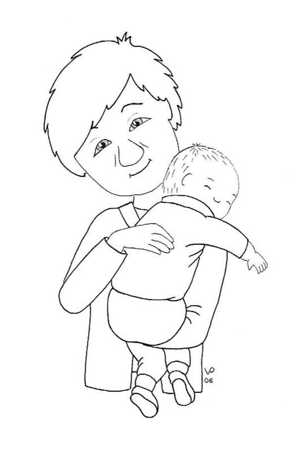 Baby Coloring Pages | Coloring Pages For Girls | #13