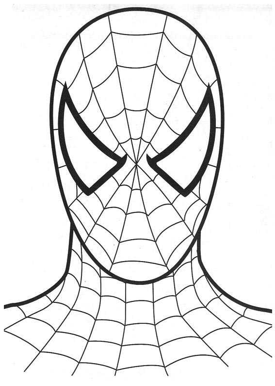 Spiderman Coloring pages | Kids coloring pages | Free coloring ...