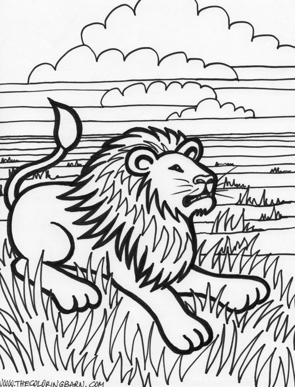 Tiger coloring pages | Animal coloring pages | #10