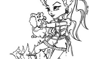Monster High Coloring Pages | #19