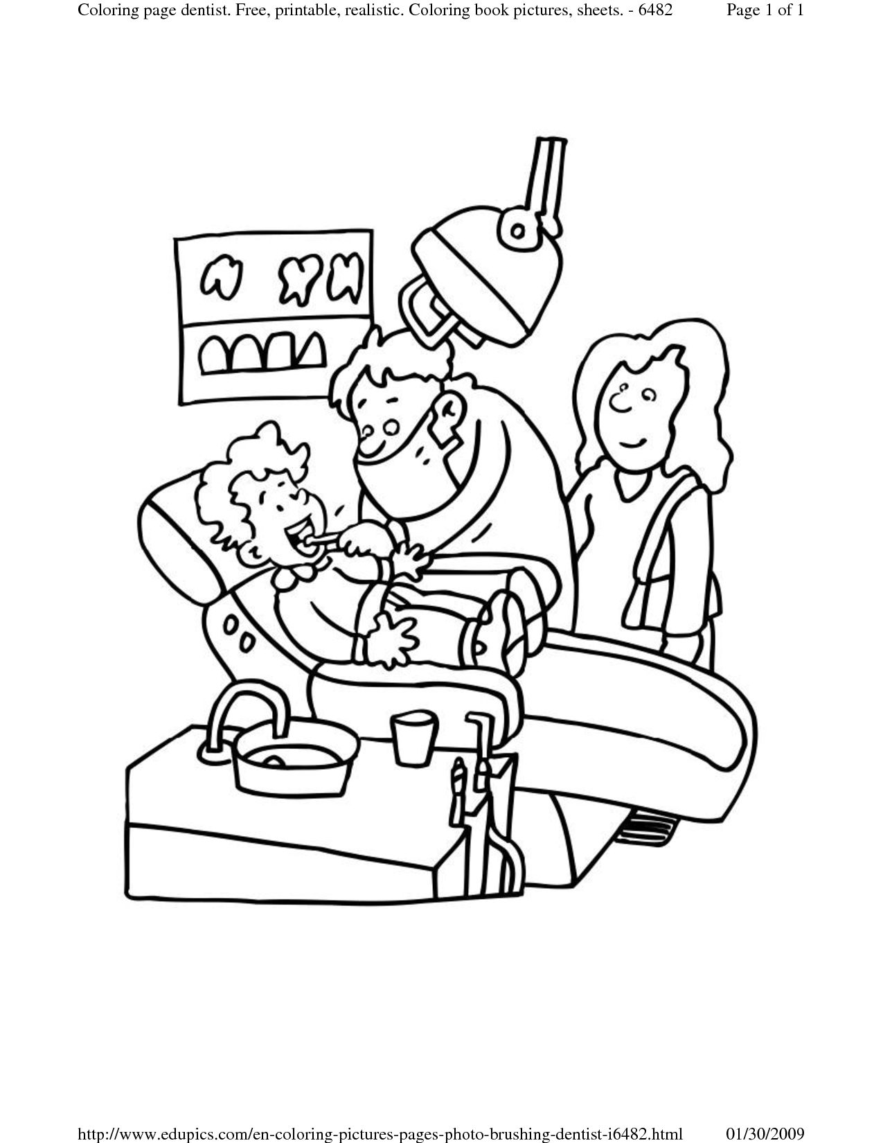 Dental Coloring Pages | #33