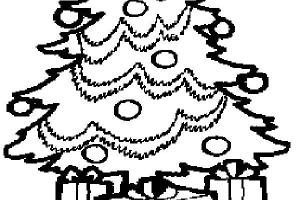 Nice Tree Coloring Pages Christmas | Coloring pages for Christmas | Christmas trees coloring pages
