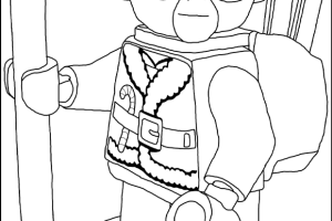 Lego Star Wars Coloring Pages | FREE LEGO STAR WARS | Coloring pages for kids | #33