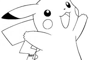 Pikachu Pokemon Coloring Pages | Coloring pages for kids | Kids coloring pages |