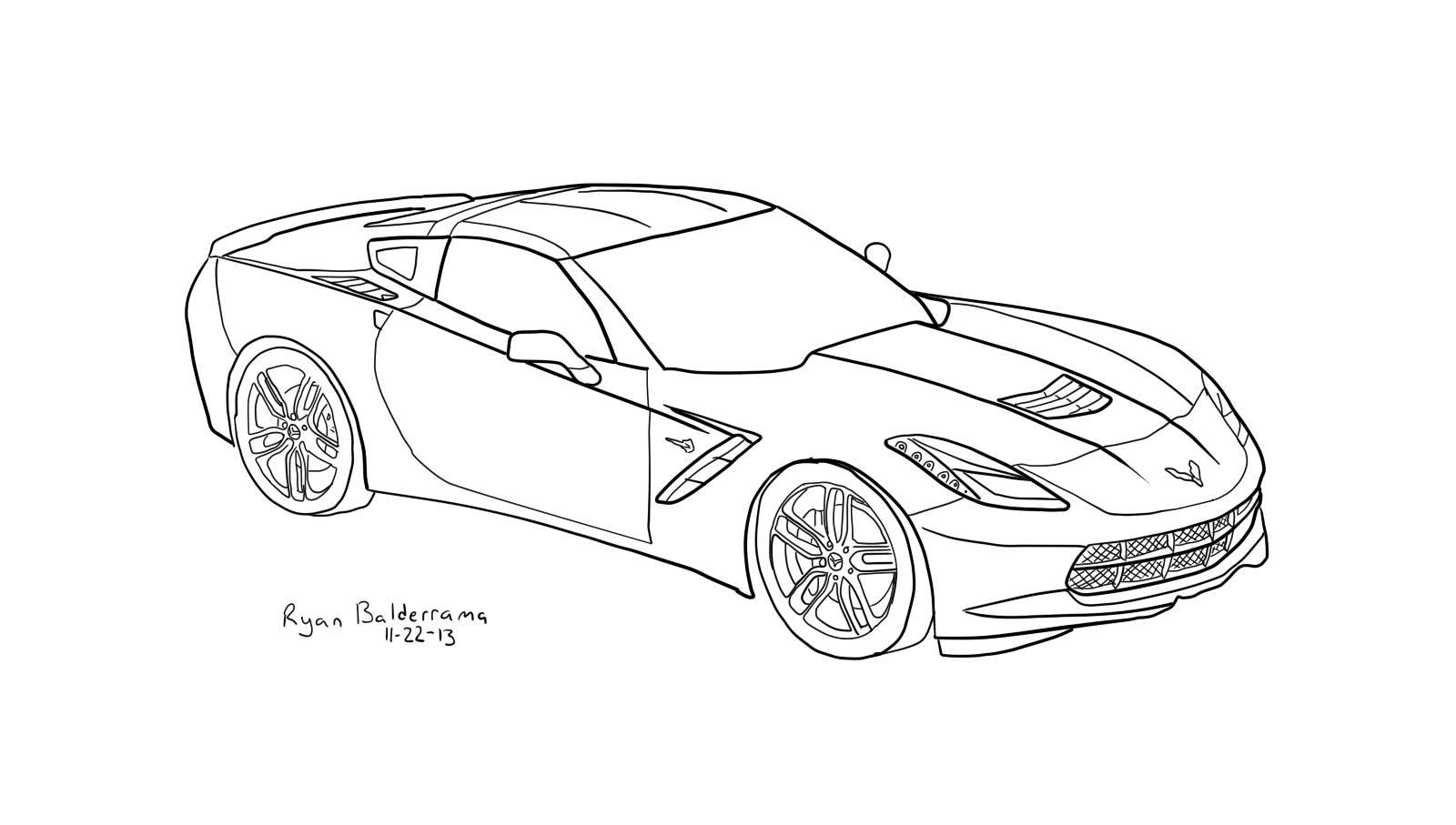 2014 Zr1 Corvette Car Coloring Pages Race Car Coloring Pages Free Printable Coloring Pages For