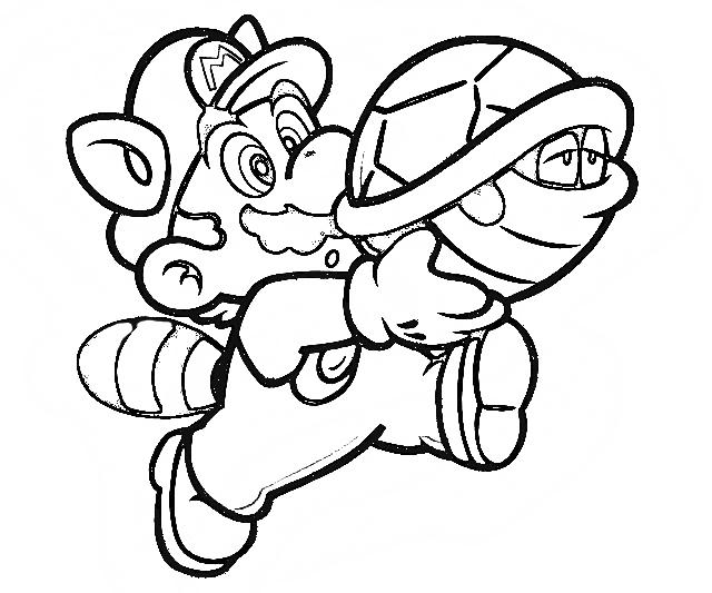 Super Mario Coloring Pages | Coloring pages for Kids | #19