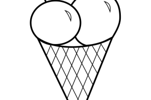 Ice Cream Coloring pages |  Coloring pages for Kids |著色頁 | páginas para colorear | #14