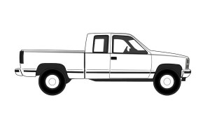 Chevy Truck Printable Coloring Pages for Kids