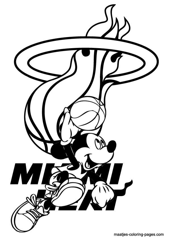 Magic Miami NBA Free coloring pages Free Printable ...