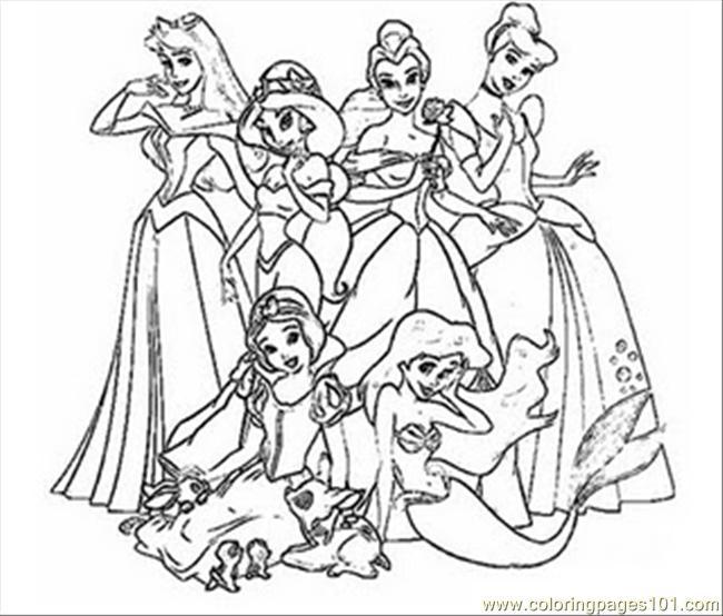 Free Princess Coloring Pages Murderthestout Coloring Pages Princess