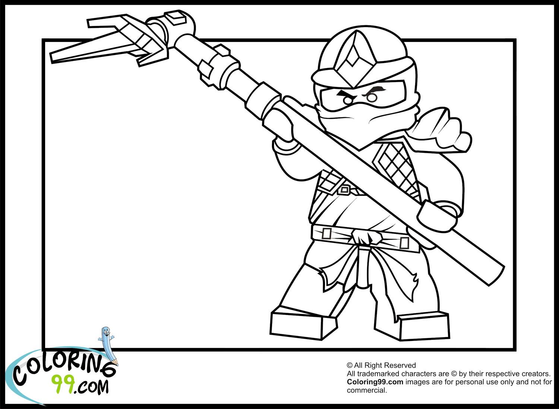 Lego Ninjago Coloring Pages Kai Kx | Coloring Page