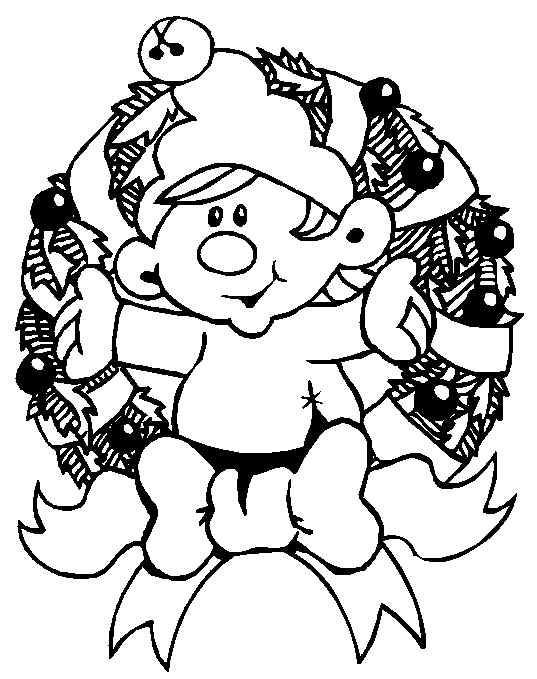 Enjoy Christmas Elf Print Coloring Pages Free Printable ...
